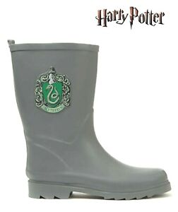 Boys Girls Harry Potter Wellington Boots Slytherin Emblem Character Wellie BBNWT