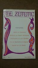 The Zetetic . Volume 1 . Number 1 .  1976 . Fast 1st Class Postage  !