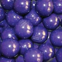 Grape Dubble Bubble 1 Inch Gumballs 850 Bulk for Vending- 24mm GRAPE 15 Pounds