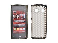 Housse Etui Coque Silicone Gel Noir Diamand ~ Nokia 500