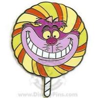 Disney Pin 59591 WDW Lollipops Mystery Alice in Wonderland Cheshire Cat LE 200