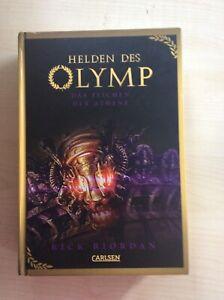Helden des Olymp-Das Zeichen der Athene, Rick Riordan, Band 3, gebundene Ausgabe