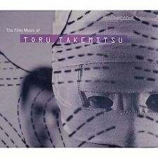 The Film Music of Toru Takemitsu Soundtrack CD 1997 NEW SEALED Nonesuch Records