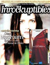 "Les Inrockuptibles #210 - Chiara MASTROIANNI - ""La lettre"",... + VHS exclusive"