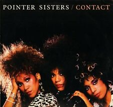 THE POINTER SISTERS contact PL85487 german rca 1985 LP PS EX/EX with inner sleev