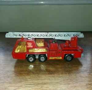 MATCHBOX SUPERKINGS K-9 FIRE TENDER 1972 LESNEY PRODUCTS