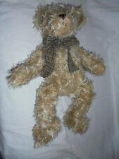 """Bearington Collection Scruffy Bear 19"""" Plush Soft Toy Stuffed Animal"""