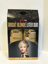 SEXY HAIR BRIGHT BLONDE VIOLEY SHAMPOO CONDITIONER LITER DUO SET - 33.8oz