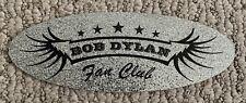 Large Bob Dylan Fan Club Glitter Sticker