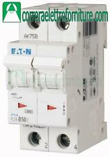 Interruttore magnetotermico 2P 50A 2 moduli 4,5KA EATON 243283