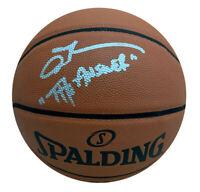 Allen Iverson Philadelphia 76ers Autographed NBA Basketball THE ANSWER Beckett
