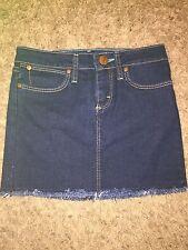 Youth GIRLS NEW WRANGLER Size 10 Regular Dark Blue Skirt