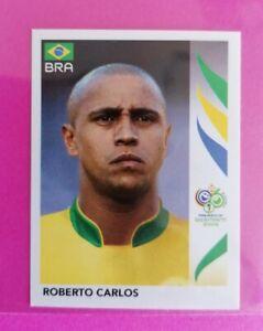 Panini 2006 WORLD CUP ⚽ ( GERMANY ) Roberto Carlos  BRAZIL STICKER #385 ⚽