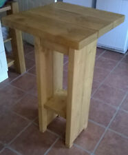 New Rustic Cafe Style Breakfast Bar Table/Kitchen Table