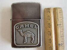 VINTAGE ZIPPO LIGHTER CAMEL META With CAMEL MARK MADE USA,So Collection,So Rare