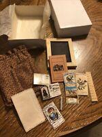 American Girl Pleasant Company Kirsten Slate Bag & Supplies Complete EUC In Box