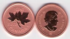 2012 Canadian Specimen Penny Small Cent Magnetic ~Beautiful~