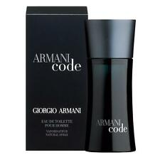 ARMANI CODE 125ml EDT SPRAY  FOR MEN By GIORGIO ARMANI