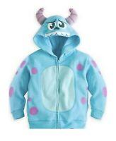 Disney Exclusive Monsters Inc SULLEY sweatshirt Costume Hoodie New 7/8 M