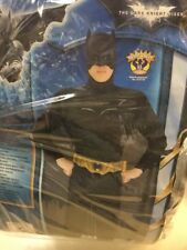 Deluxe Ufficiale The Dark Knight Batman Adulto Costume Cosplay Taglia XL