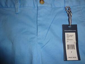 NWT Vineyard Vines Boys 4T or 7 Coastline Blue Breaker Pant $52 Adjustable Waist