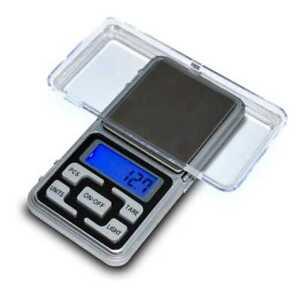 500g x 0,1g Mini Digital-Taschen-Waage Goldwaage Juwelierwaage Feinwaage