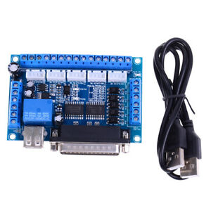 MACH3 CNC 5 axis interface breakout board for stepper motor driver CNC milR.wy