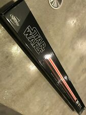 Star Wars ULTRA RARE Darth Vader Removable Blade FX Lightsaber Hasbro 2010