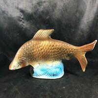 Vintage Ceramic Fish Figurine 4077 Made in Brazil