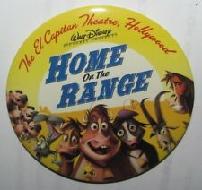 Home on the Range Button @ El Capitan Theatre, Hollywood - Walt Disney Pictures