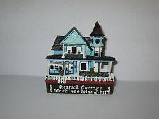 Shelia's Collectibles Rearick Cottage Mackinac Island MI Magnet Miniature Mint