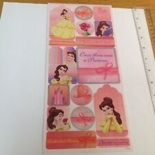 Disney Belle Sticker Sheet. #18