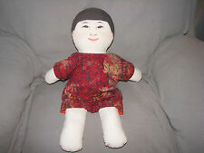 Environments Inc Earthchild Earth Child Wind Cloth Doll 1999 Montessori Waldorf