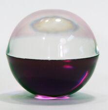 BIG Decorative Acrylic Ball 80mm 2 tone purple GREAT fish tank decoration!