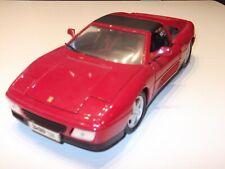 Maisto Ferrari 348 ts Rot  1:18  unbespielt , Vitrinenmodell
