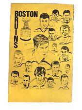 OriginAl Card Stock ORR Boston Bruins 1970 STANLEY CUP CHAMPIONS Poster ESPOSITO