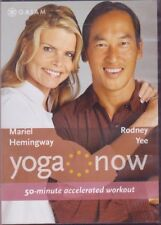 Yoga DVD - YOGA NOW: 50 MINUTE ACCELERATED WORKOUT RODNEY YEE & MARIEL HEMINGWAY