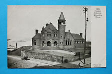 USA United States of America AK Memphis Tennesssee Cossett Library 1900s Street