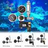 G5/8 W21.8 Aquarium CO2 Regulator Check Valve Bubble Counter Magnetic Solenoid