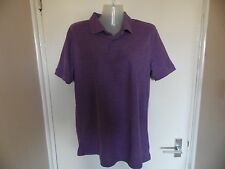 Ladies purple polo shirt from Cedar wood state in a size M