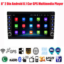 """8"""" 2 Din Android 8.1 Car GPS Radio Multimedia Player Bluetooth Mirror Link 1+16G"""