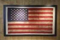 $50 OFF AMERICAN VINTAGE FLAGS - LARGE & XLARGE VINTAGE - FRAMED - SHIPS FREE