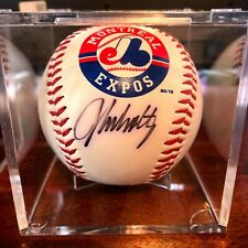 John Smoltz Signed Montreal Expos Baseball