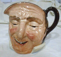 SALE Vintage Royal Doulton large character jug Sairey Gamp D5528 Or Large Farmer John D5788  style 1A