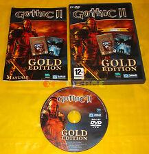 GOTHIC II GOLD EDITION 2 Pc Versione Ufficiale Italiana ○○○○○ USATO AB