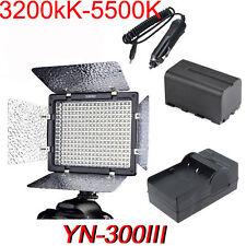 YONGNUO Yn300 III 5500k Pro LED Studio Light Control for Canon Nikon Power UK