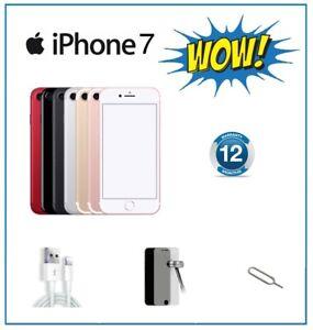 Apple iPhone 7 32GB 128GB 256GB Gold Rose Gold Black Silver Unlocked Warranty