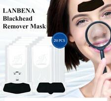 LANBENA Charcoal Blackhead Removal Peel Off Mask Strips For Nose Chin Forehead
