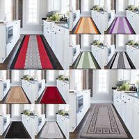 Modern Long Hallway Runner Rug Non Slip Door Mats Bedroom Rug Kitchen Floor Mats