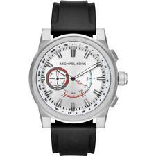 MKT4009 acceso Michael Kors Grayson Híbrido de Silicona para Hombre Correa Reloj inteligente